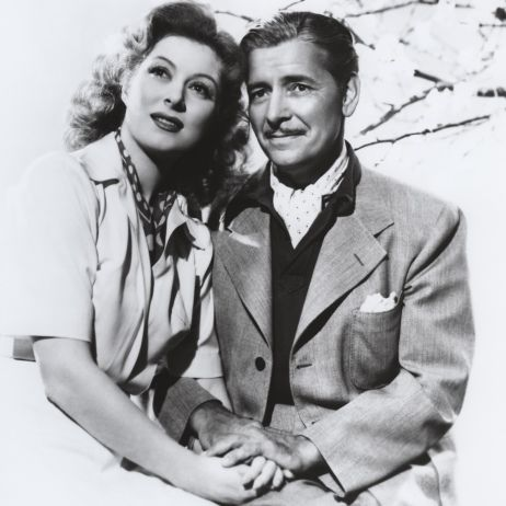 Greer Garson and Ronald Colman