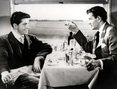 Farley Granger and Robert Walker