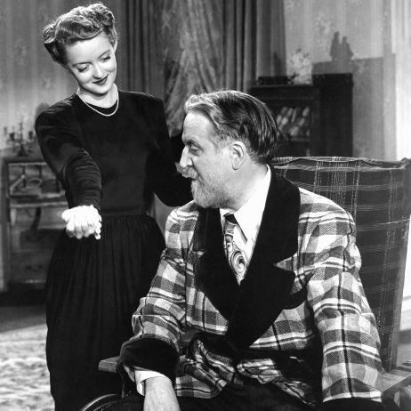 Bette Davis and Monty Wooley