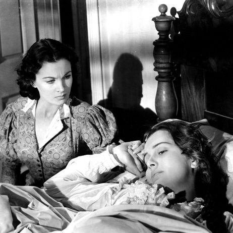 Vivien Leigh and Olivia De Havilland