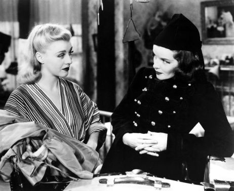 Ginger Rogers and Katharine Hepburn in Stage Door