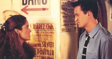 Salma Hayek and matthew perry