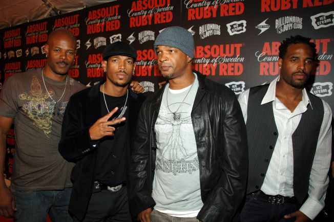 Pharrell Williams and ABSOLUT Ruby Red Host Pre-VMA Party - Red Carpet Arrivals
