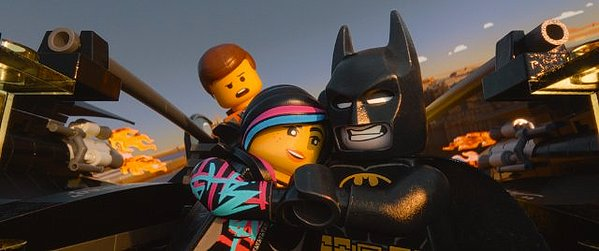 Batman & Wild Style The Lego Movie